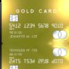ラグジュアリーなカード